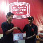 Bapak Hensisito Belajar korter di kursuskorter.com dari NOL sekarang suskses buka bengkel oversize mesin di Tempilang Bangka Belitung