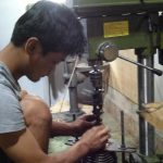 Jual Mesin Poles Modifikasi Bor Duduk Merk Westlake