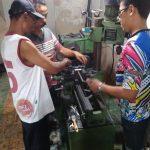 Proses Miling Boring Motor 2 Tak Selalu Dalam Arahan Instruktur Kursus Korter