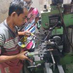 Proses Miling Boring Motor 2 Tak Di Kursus Korter Bengkel NBS Jogja