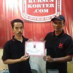 Perpisahan Peserta Kursus Korter Dari Bontang Kalimantan Timur
