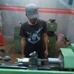 Proses pembuatan boring motor dari bahan besi mentah