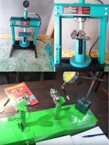 alat press bongkar pasang kruk as / stang seker