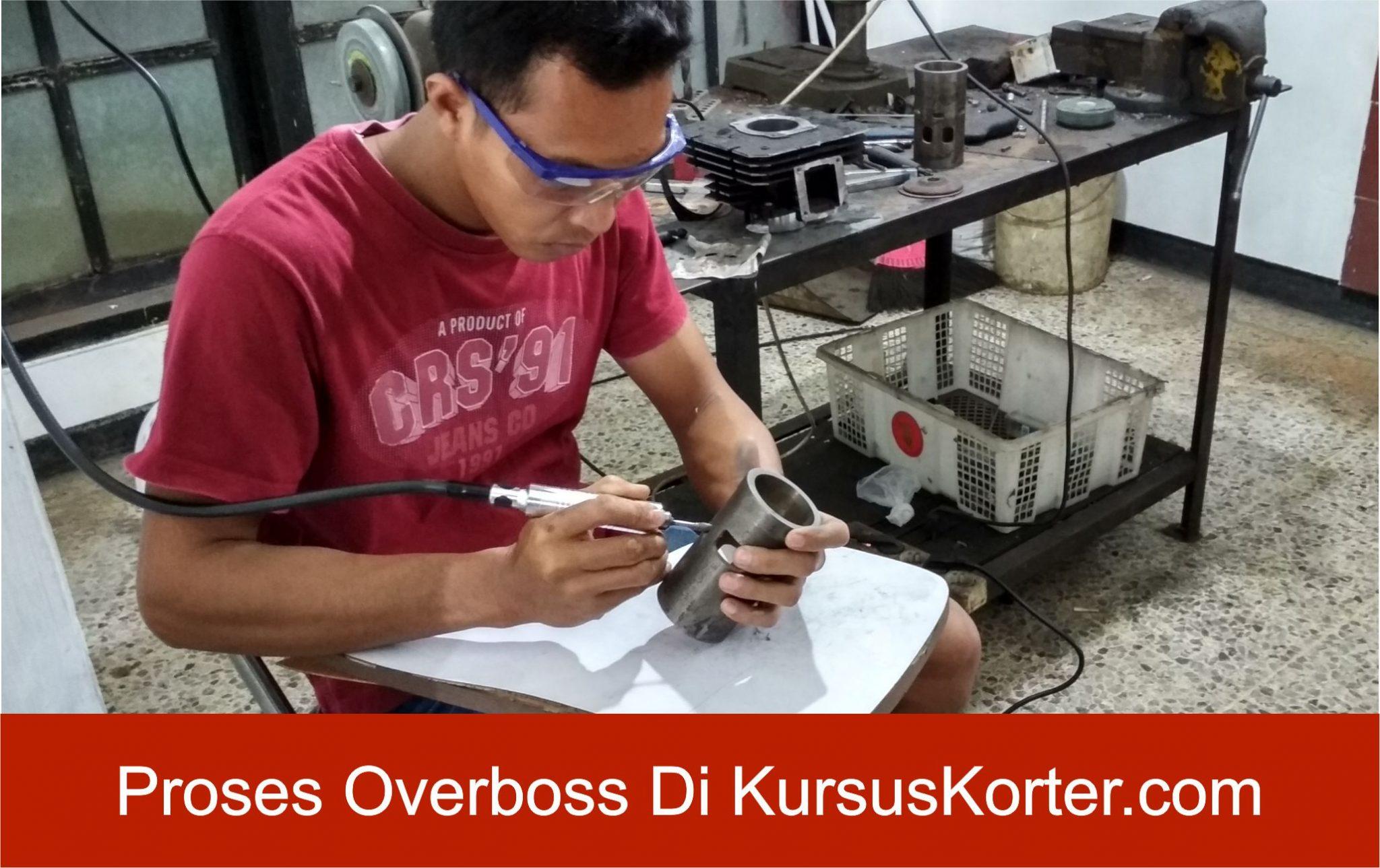 Proses Belajar Overboss Mesin di KursusKorter.com