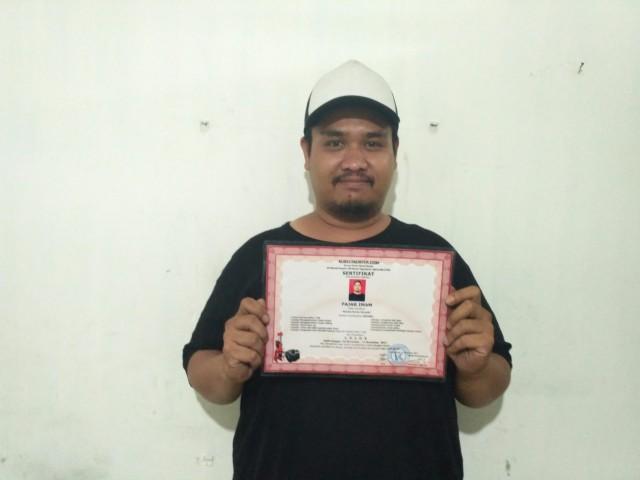 Peserta asal Padang bernama Mas Fajar