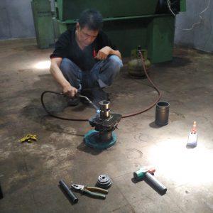 Belajar Cara Masukkan Boring Silinder ke Blok Mesin