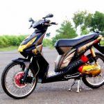 Modifikasi Motor Beat Terbaru di Tahun 2015 dengan Gaya Ekstrim dan Keren Abis