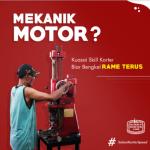 Mekanik Motor ? pelajari kursus korter BENGKEL JADI RAME TERUS