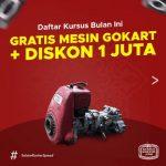 Kursus Korter GRATIS MESIN GOKART + DISKON 1JUTA